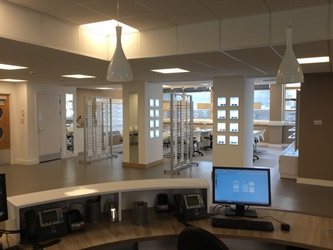 Glasgow Caledonian Vision Centre Services The Department Of Sciences By Providing Clinical Training Facilities For Up To 120 Optometrists And 30